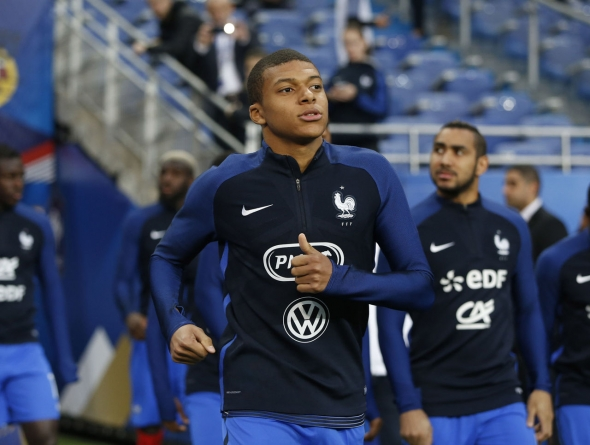 Mbappe tempers Real Madrid reports: 'I am not there yet'