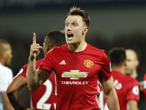UEFA bans United's Jones 2 matches, fines Blind for doping procedure violations