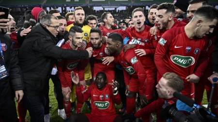Marseille booted by 4th-tier amateurs in Coupe de France