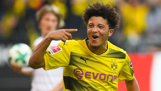 Report: Manchester City made illegal payment to Jadon Sancho's agent