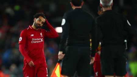 Why Salah's struggles against big sides could sink Liverpool's season