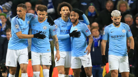 Manchester City smash 7 past Schalke to reach quarterfinals