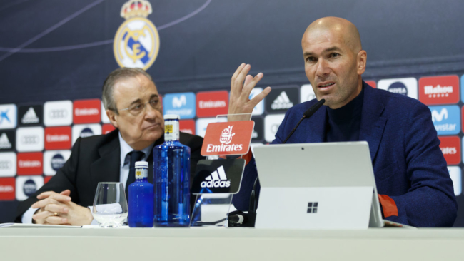 Real Madrid's U-turn proves Zidane was right all along