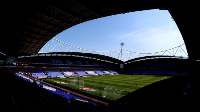 Bolton squad refusing to play until wages paid