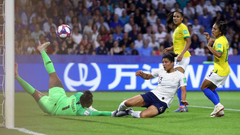 France books quarterfinal berth with extra-time win over Brazil