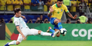 Gabriel Jesus and the burden of wearing No. 9 for Brazil