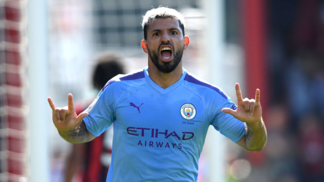 How does Aguero compare to Premier League's greatest-ever scorers?