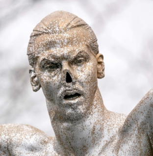 Vandals knock over Ibrahimovic statue in latest attack