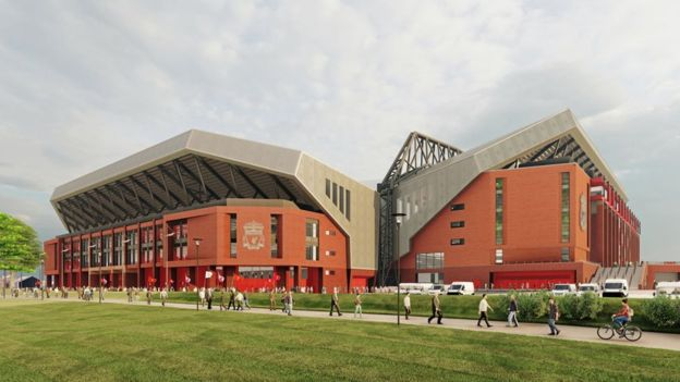 Liverpool's proposed Anfield expansion on hold due to COVID-19