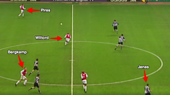 Anatomy of a Classic Goal: Bergkamp's pirouette vs. Newcastle