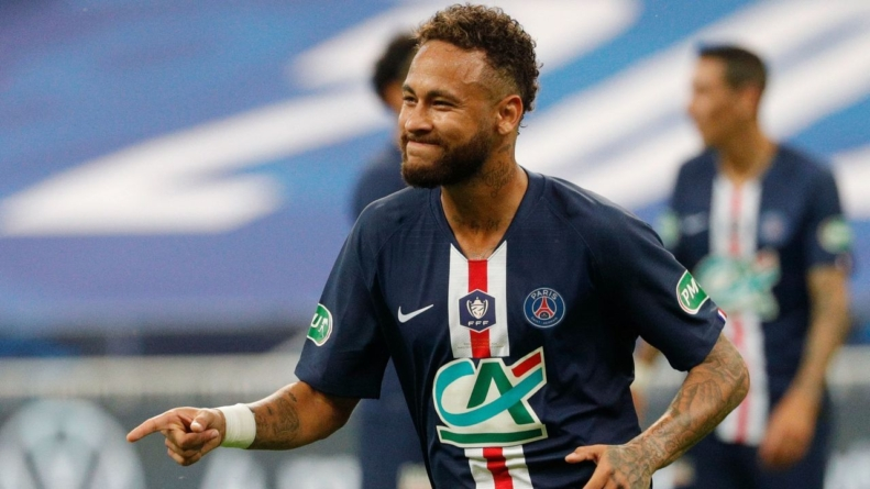 French soccer returns as PSG win bad-tempered Coupe de France final