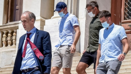 Maguire released from police custody, court hearing set for Tuesday