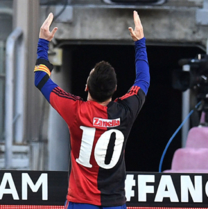 Messi fined for on-field tribute to Maradona