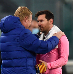Koeman 'not confident' Messi will stay at Barcelona after this season