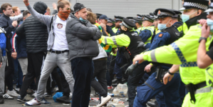 United fans storm Old Trafford, force postponement of Liverpool game